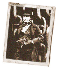 Old photograph of Brunel