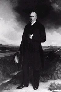 Portrait of George Stephenson (ICE)