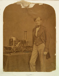 Daniel Gooch (Elton Collection: Ironbridge Gorge Museum Trust)