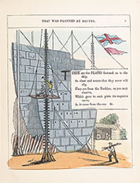 Pages from child's promotional book on ss Great Eastern (Private collection)